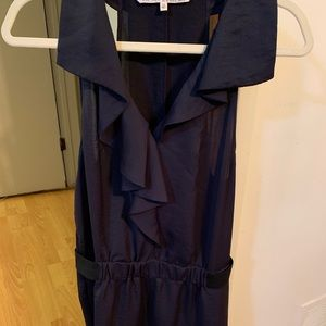 Navy blue sleeveless dress size 12